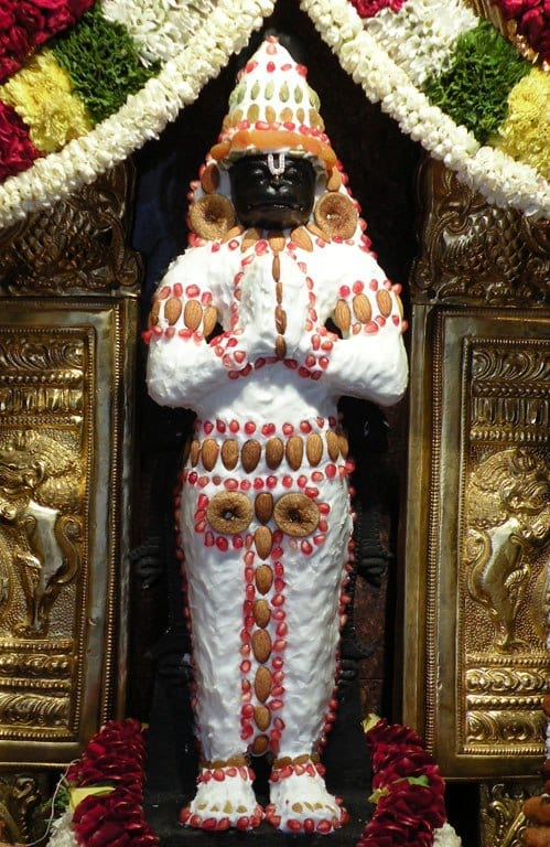 Butter Makeover for Lord Hanuman